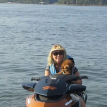 Rusty really loves to out on the water